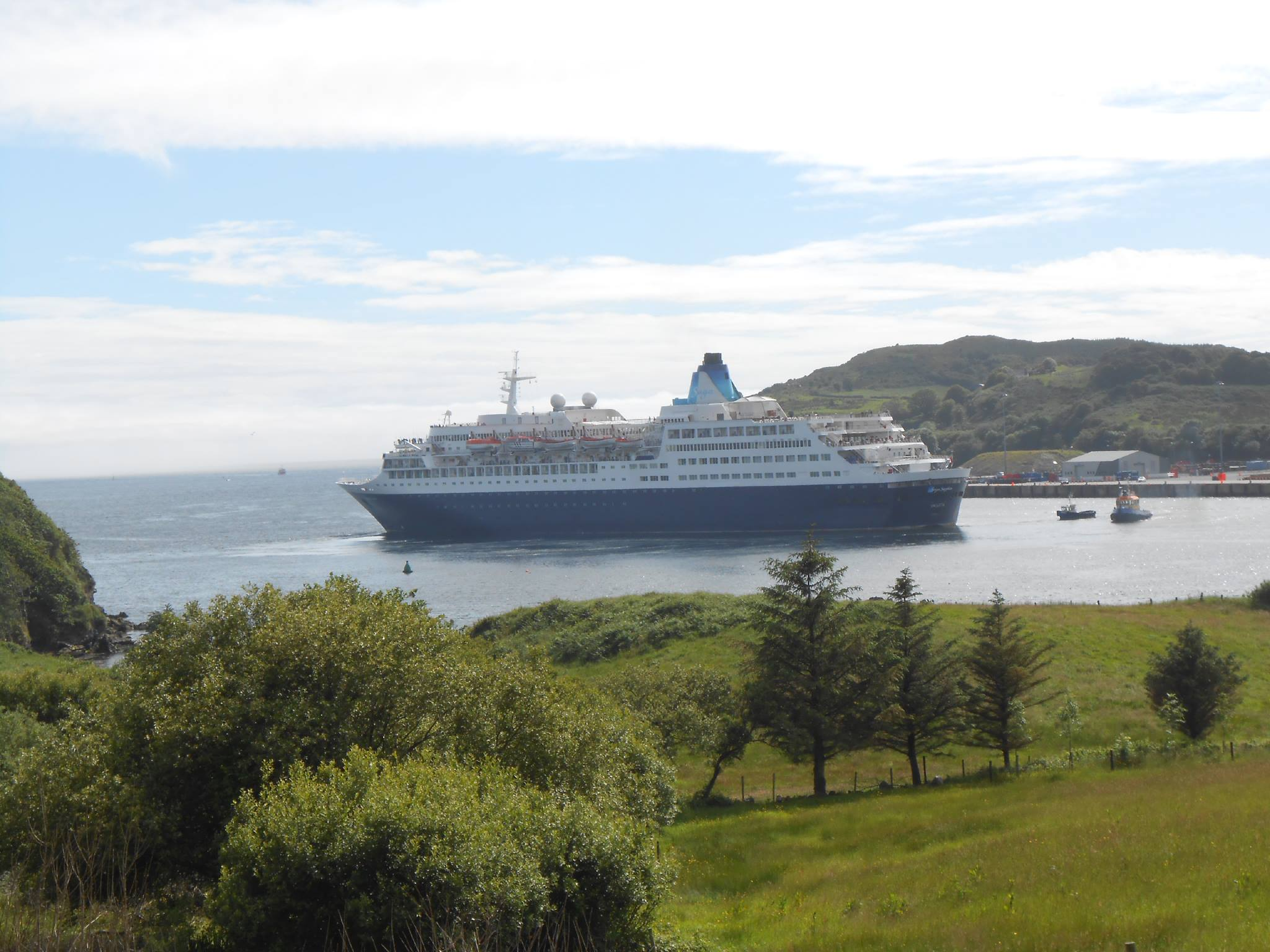 MS Saga Sapphire Killybegs Harbour