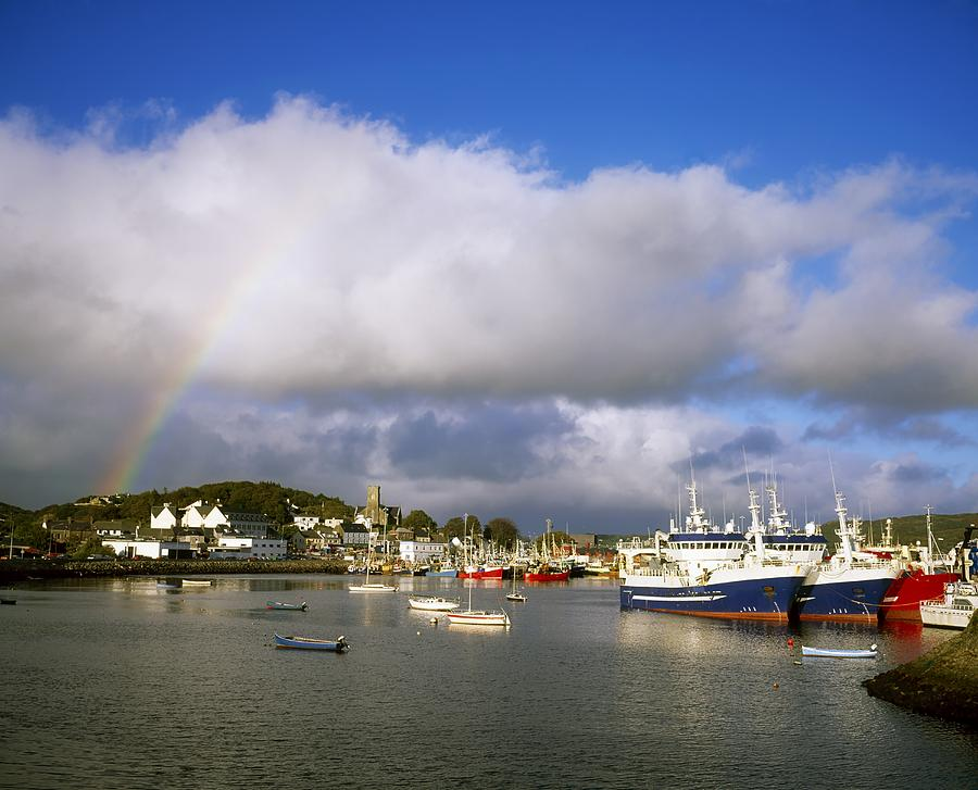 Killybegs Harbour County Donegal