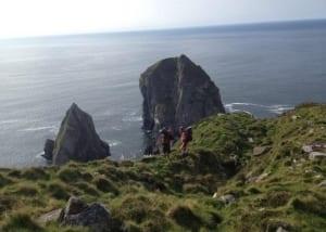 unique ascent rock climbing Donegal