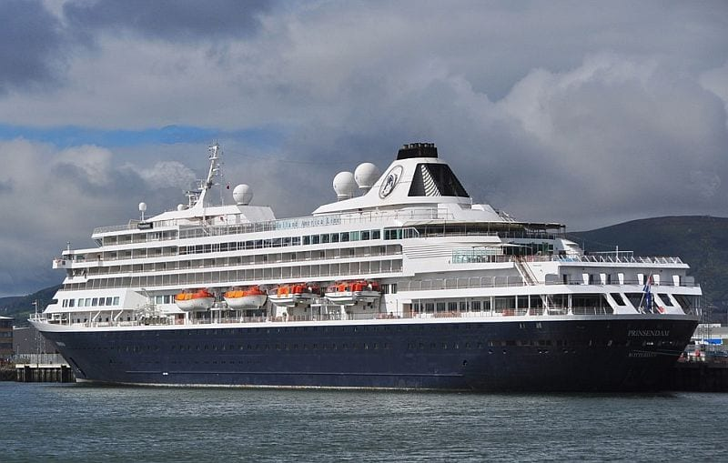 MS Prinsendam visits Killybegs